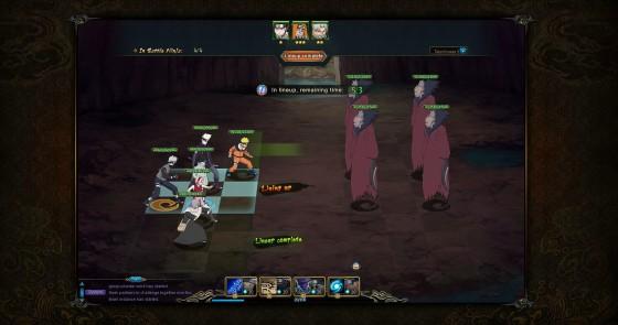 NARUTO ONLINE_BattleSetup