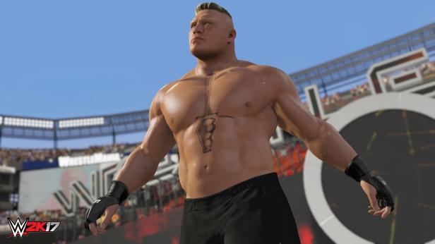 WWE 2K17_Brock Lesnar