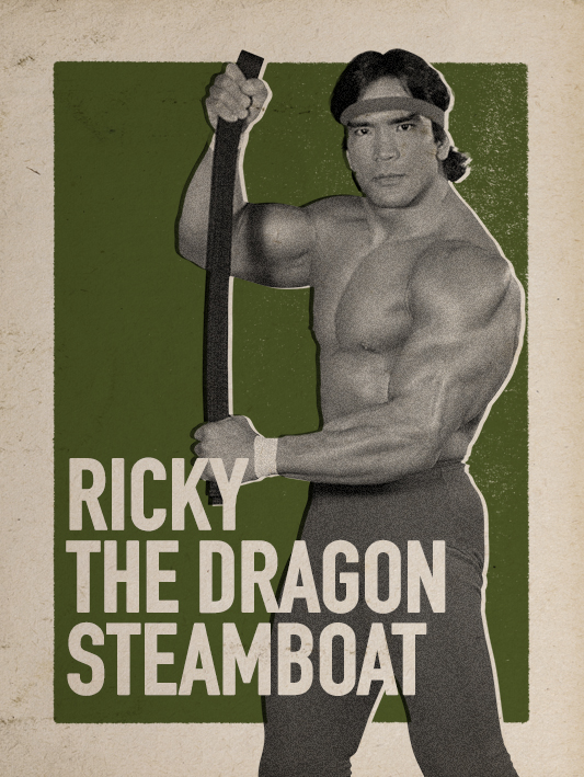 WWE 2K17_RICKY THE DRAGON STEAMBOAT