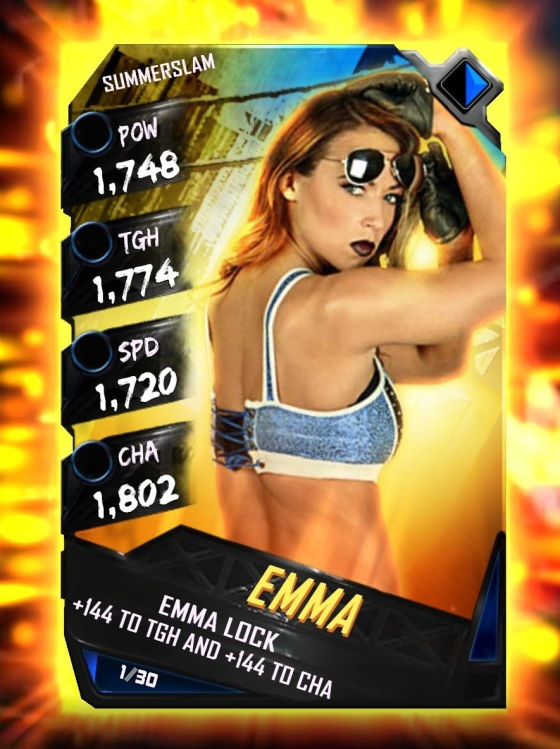 WWE SuperCard Summerslam Tier Emma