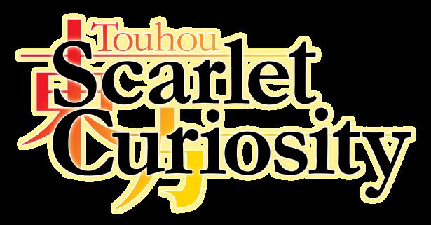 Touhou_ Scarlet Curiosity - Logo