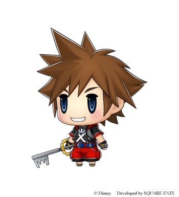 Kingdom Hearts Sora Is Coming To World Of Final Fantasy For Free