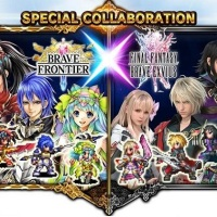 FINAL FANTASY BRAVE EXVIUS & Brave Frontier Crossover Event
