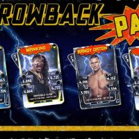 WWE SuperCard Update, Rank Rewards And Throwback Pack Released