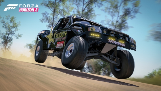 2014 Ford #11 Rockstar F-150 Trophy Truck in Forza Horizon 3 Rockstar Car Pack