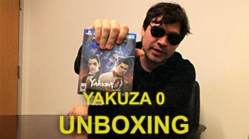 Yakuza 0 Business Edition Unboxing