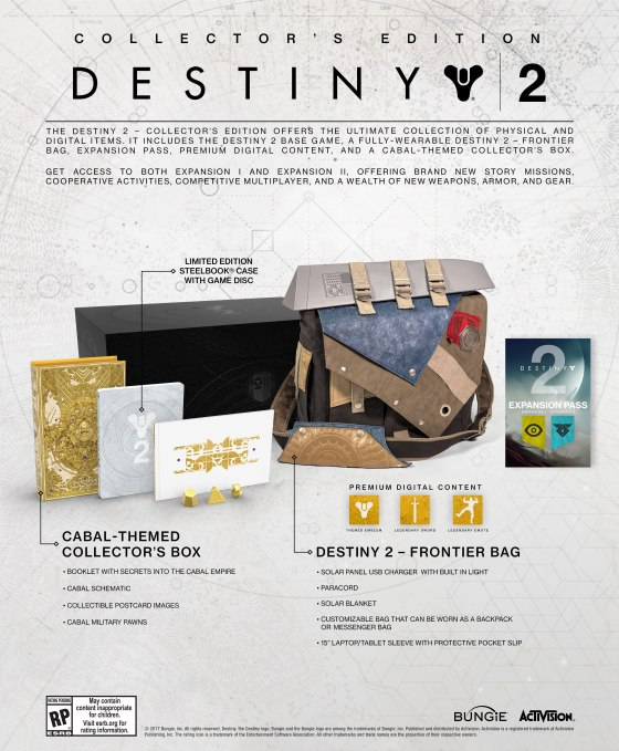 Destiny 2 - Collector's Edition Package
