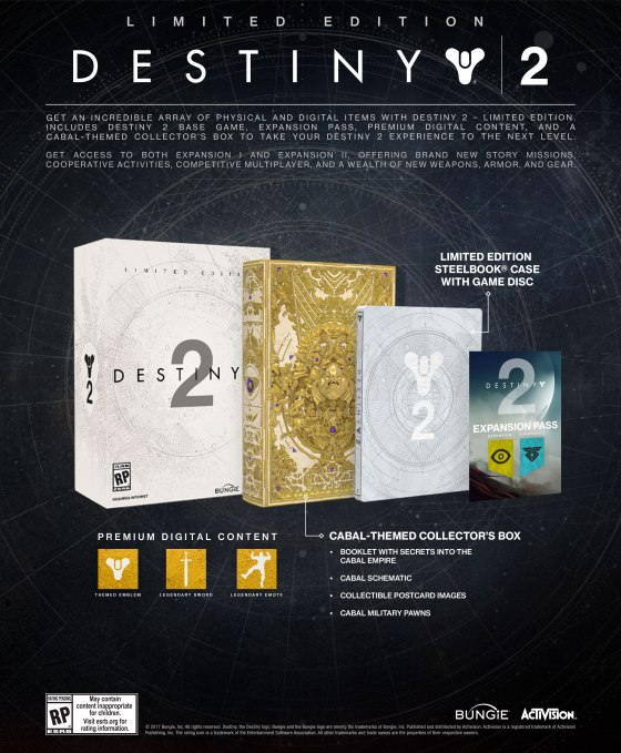 Destiny 2 - Limited Edition Package