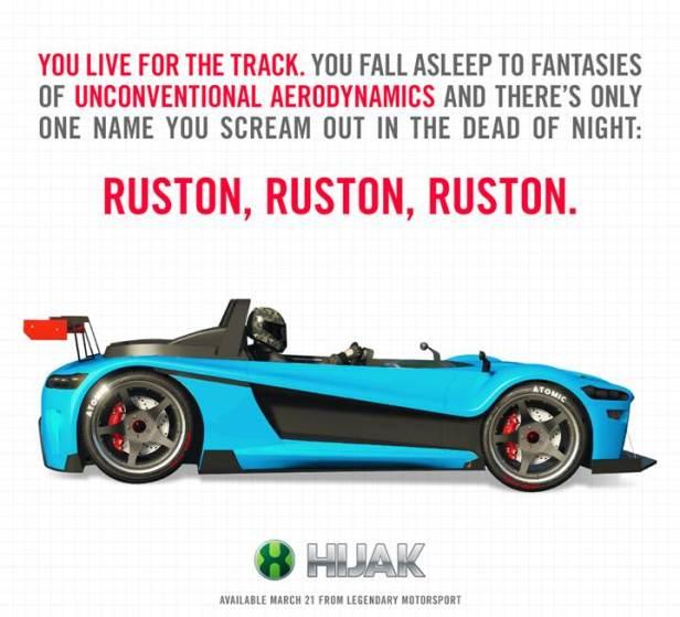 Hijack Ruston GTA Online Details