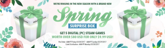 Square ENix spring surprise box