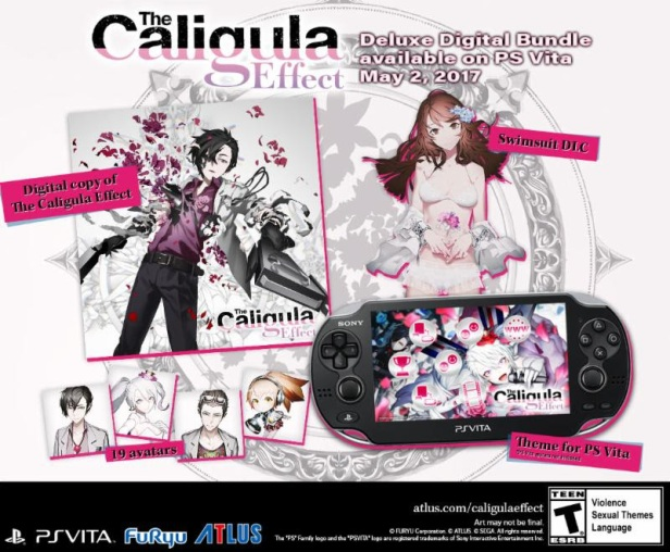 Caligula Effect Digital Bundle Content Poster
