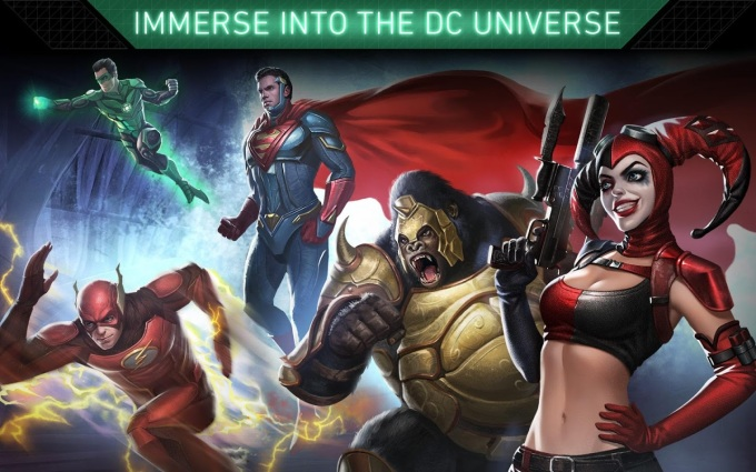 Injustice 2 Mobile Art_Immerse In The DC Universe