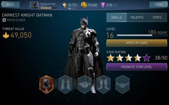 Injustice 2 Mobile Screen_Darkest Knight Batman