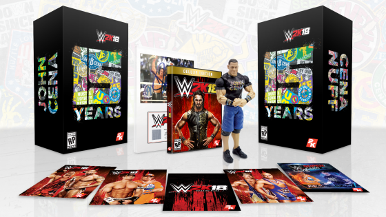 WWE2K18 CE Items