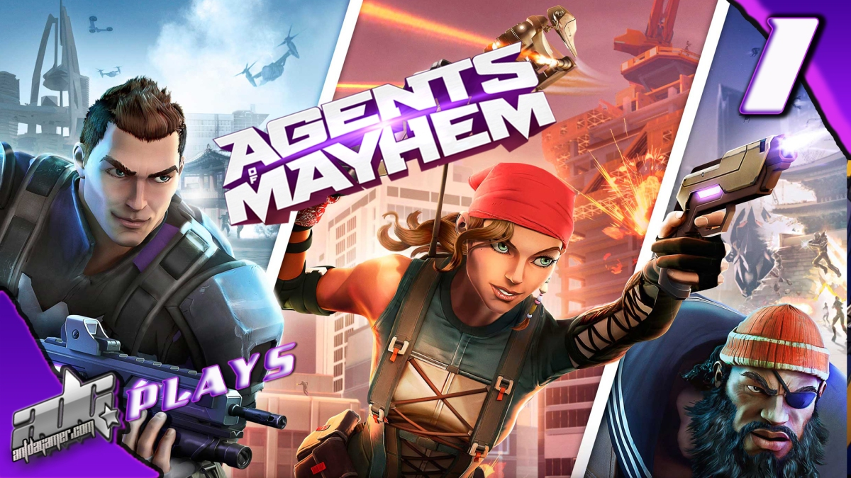 "ADG Plays Agents Of Mayhem ""For The First Time"""