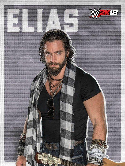 WWE 2K18 DLC Roster Elias
