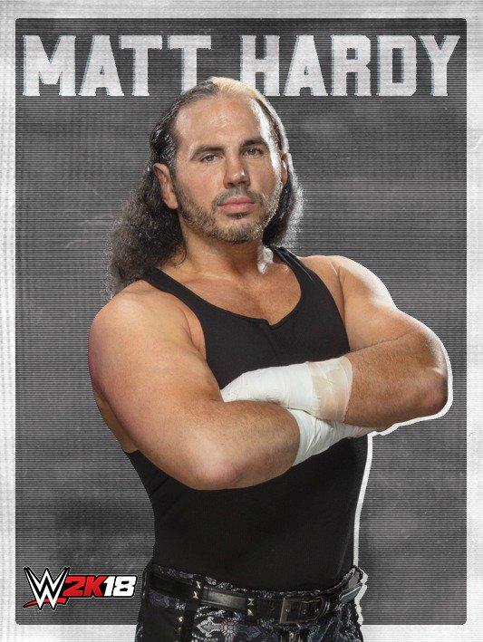 WWE 2K18 DLC Roster Matt Hardy