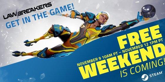 Lawbreakers Free Steam Weekend