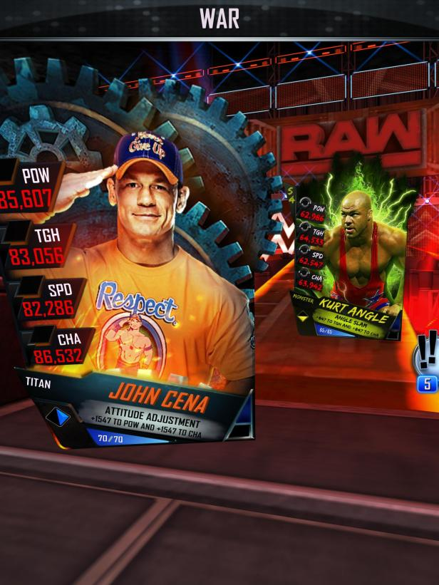 WWE SuperCard Launch 2