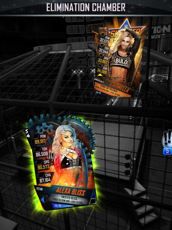 WWE SuperCard Launch 3