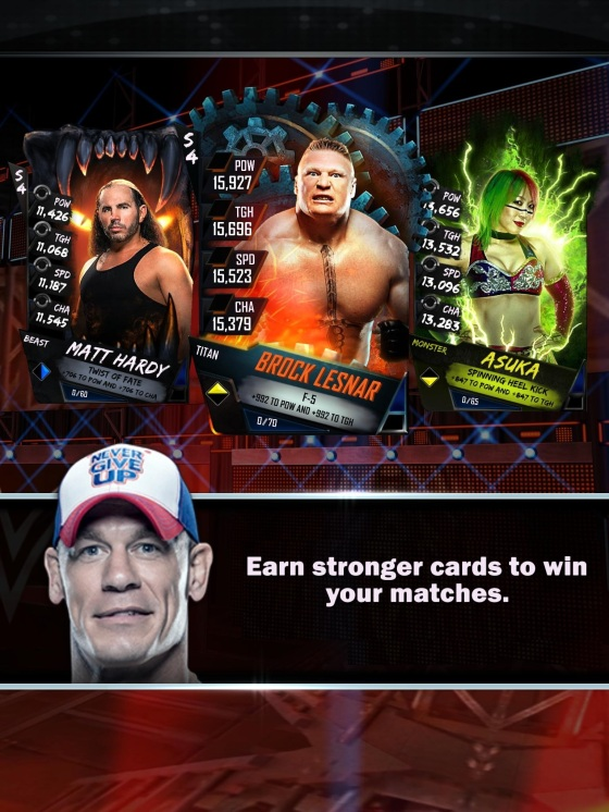 WWE SuperCard Launch 4