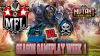 Mutant Football League Scarolina Panzers Season Week 1 Gameplay & Impressions