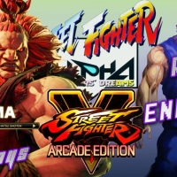 ADG Plays Street Fighter V: Arcade Edition - Akuma Street Fighter Alpha Arcade Run & Ending