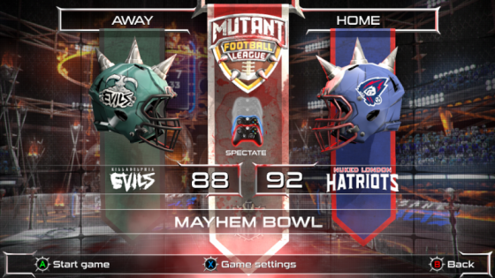 MFL Mayhem Bowl 2