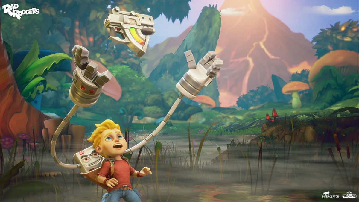 Retro platformer Rad Rodgers is out now on Xbox One and PlayStation 4
