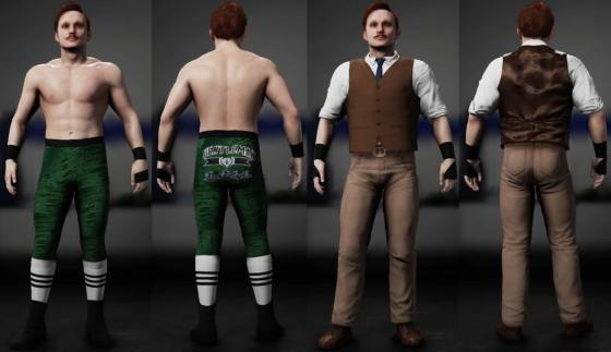Jack Gallagher WWE 2K18 J-Man Alternate 2_20_18