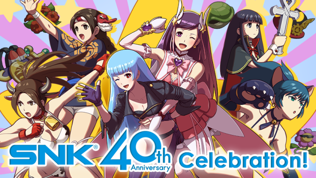 SNK 40th Celebration PAX EAST Header HEROINES TAG TEAM FRENZY.png