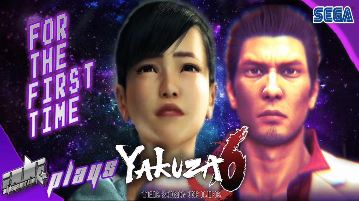"ADG Plays Yakuza 6: The Song Of Life ""For The First Time"""