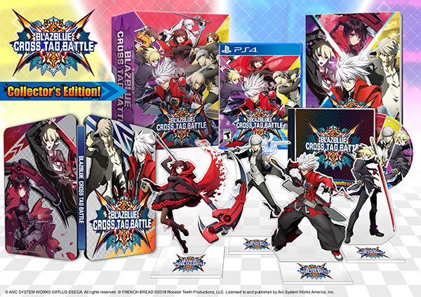 Blazblue Cross tag Battle collectors steelbook edition bonus etc glamshot