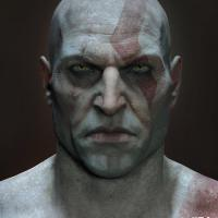 Clean Shaven God Of War PS4 Kratos Leaked
