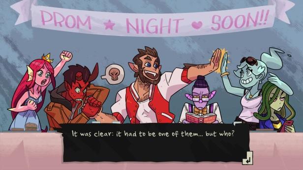 Monster Prom Night Soon Header