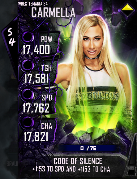WWE SuperCard Spring Into The Wring Wrestlemania 34 _51225_04_Carmella