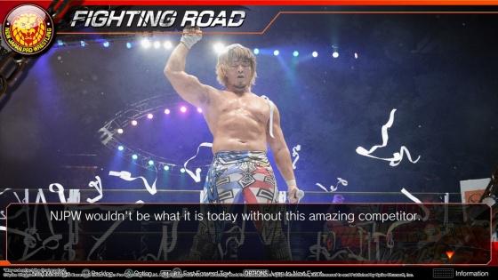 fire pro wrestling world story expository screenshots adg antdagamer njpw kenny omega hiroshi tanashi (5)