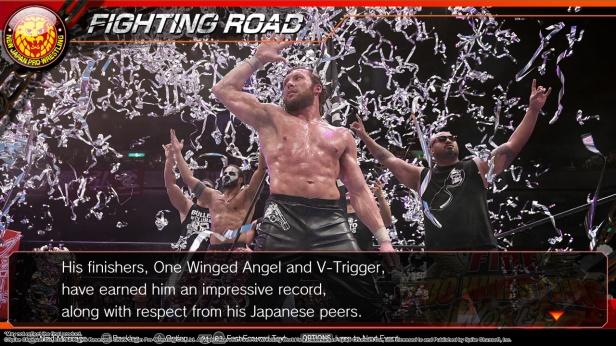 fire pro wrestling world story expository screenshots adg antdagamer njpw kenny omega hiroshi tanashi (6)
