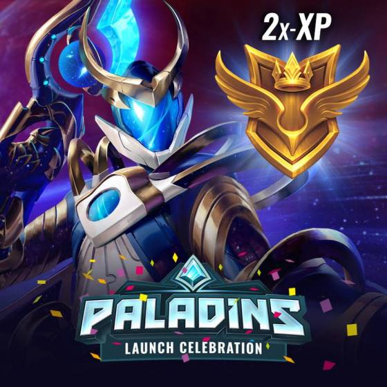 Paladins Launch Celebration 2xP