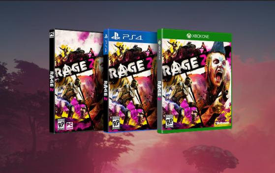 Rage 2 Screenshot Keyart early website version