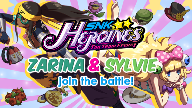 SNK Heroines Tag Team Frenzy Zarina & Sylvie Paula Paula Header