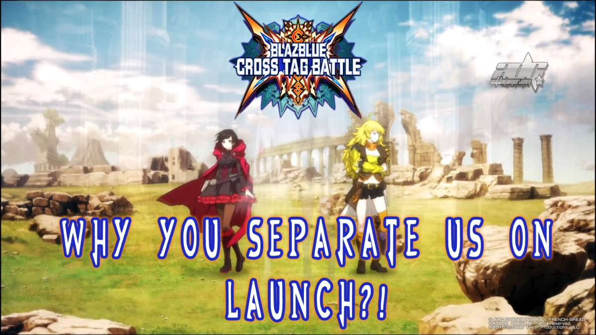 BlazBlue: Cross Tag Battle To Drop Early DLC That Is Cringy On Disk DLC