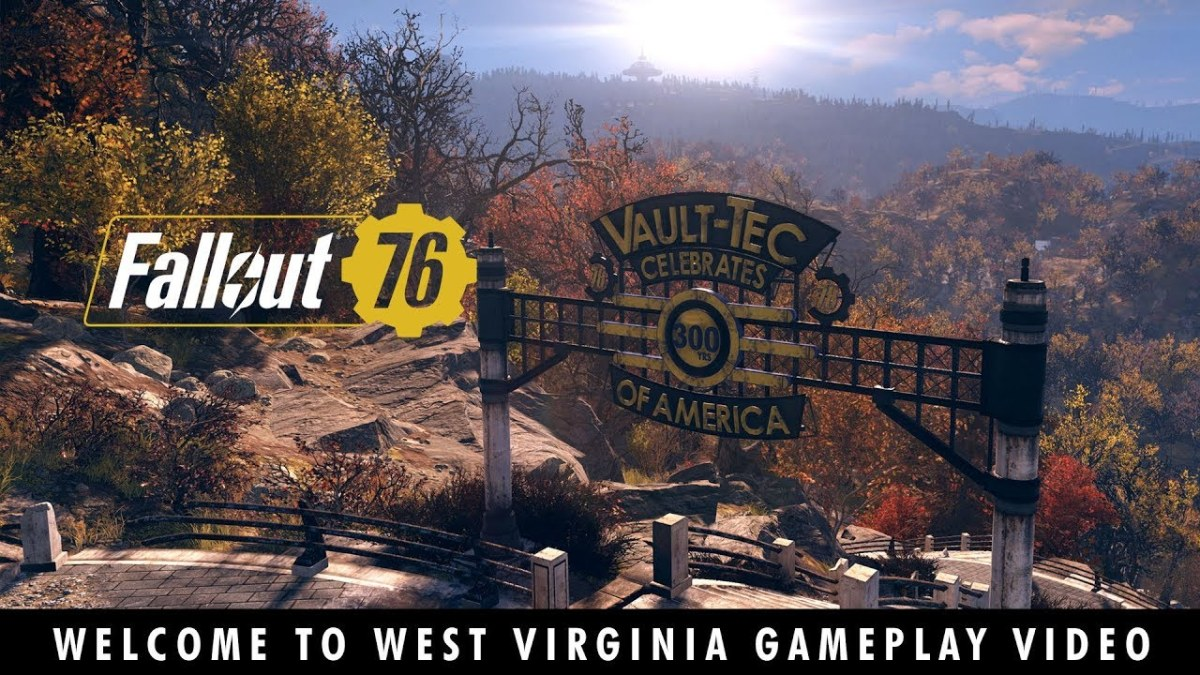 Fallout 76 Welcome To West Virginia Gameplay Video