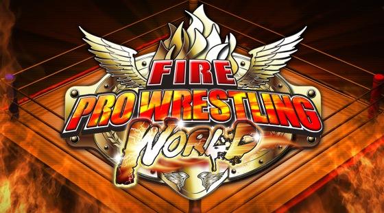 Fire Pro Wrestling World Logo Image