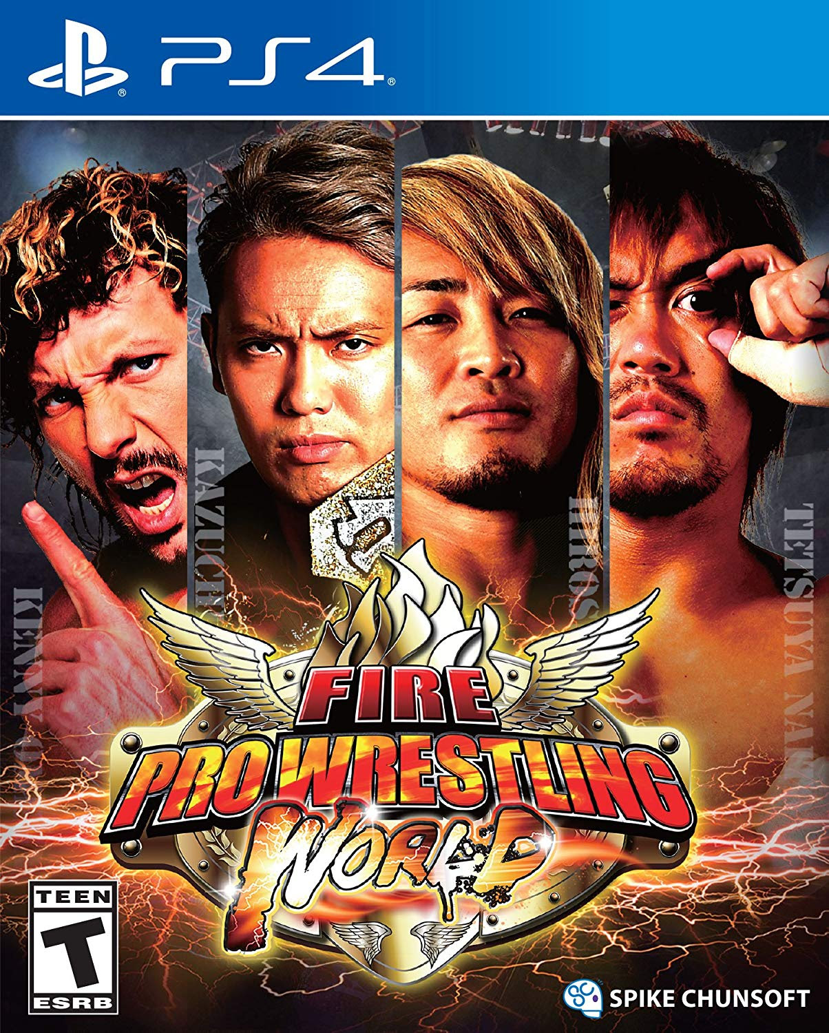 Fire Pro Wrestling World PS4 Cover Official.jpg