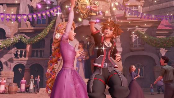 Kingdom Hearts 3 Tangle Sora High Five Header.jpg