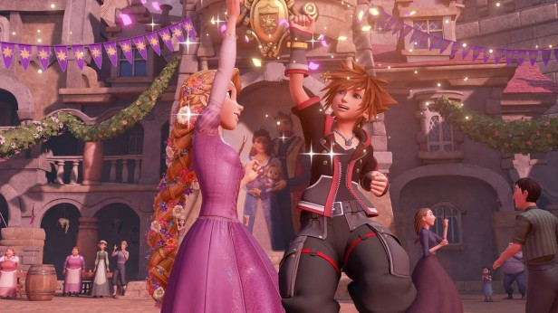Kingdom Hearts 3 Tangle Sora High Five Header.jpg