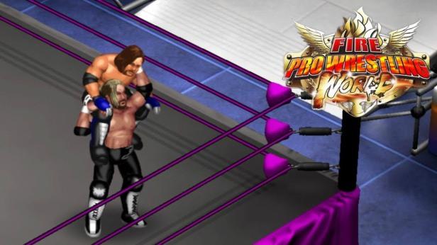 Fire Pro Wrestling World Kenny Omega Versus AJ Styles