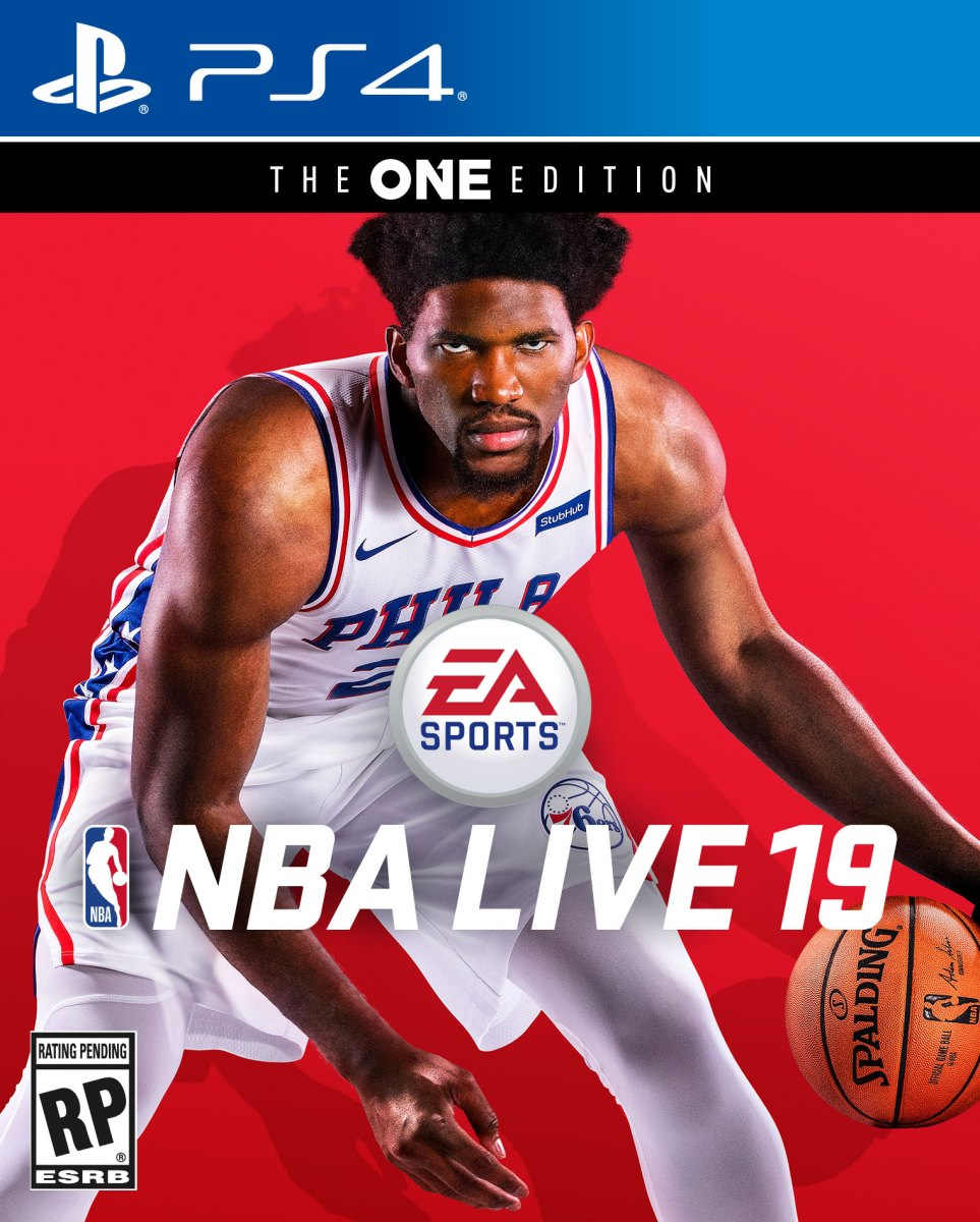 Joel Embiid Lands EA SPORTS NBA LIVE 19 Cover, Prepares to Take on the World