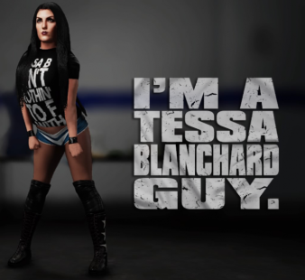 Rockstar CAWS Tessa Blanchard WWE 2K18 AntDaGamer ADG (2)